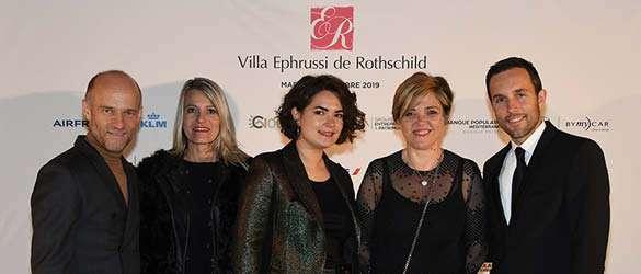 COTE à la Villa Ephrussi de Rothschild.