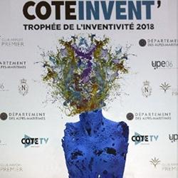 Remise des Trophées COTEINVENT'2018 par l'UPE 06 et...