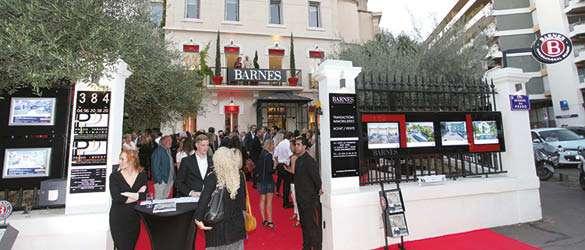 Inauguration de L'Agence Barnes